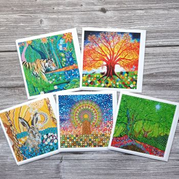 Wildlife & Tree of Life card pack #1