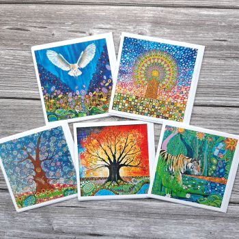 Wildife & Tree of Life card pack #2