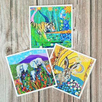 Pack of 3 cards #2