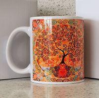 All Is Love Mandala Tree of Life Mug