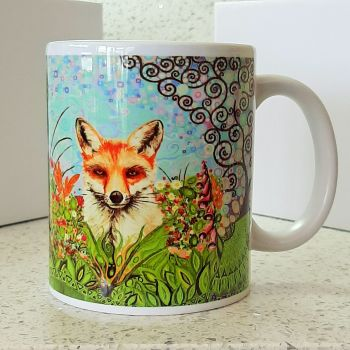 Fox and Wildlife Mug