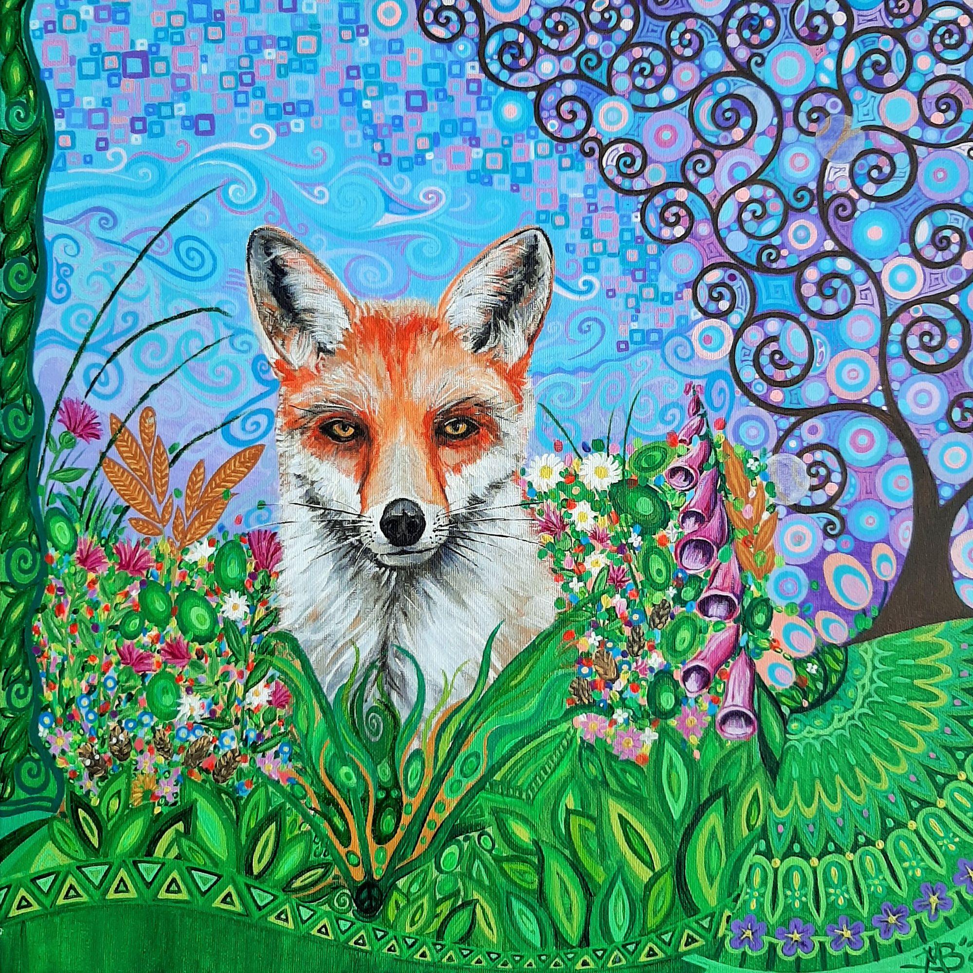 Fox & Tree of Life