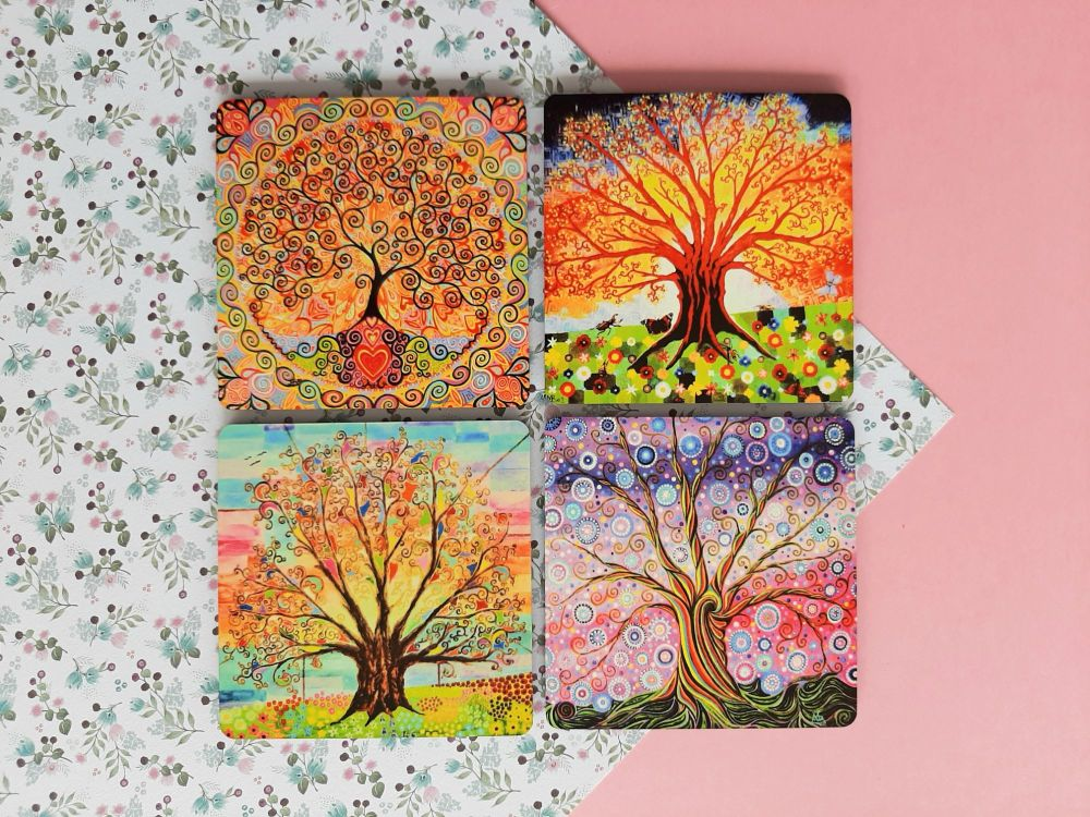 Pack of 4 coasters
