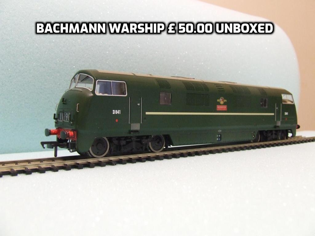 BACHMANN WARSHIP