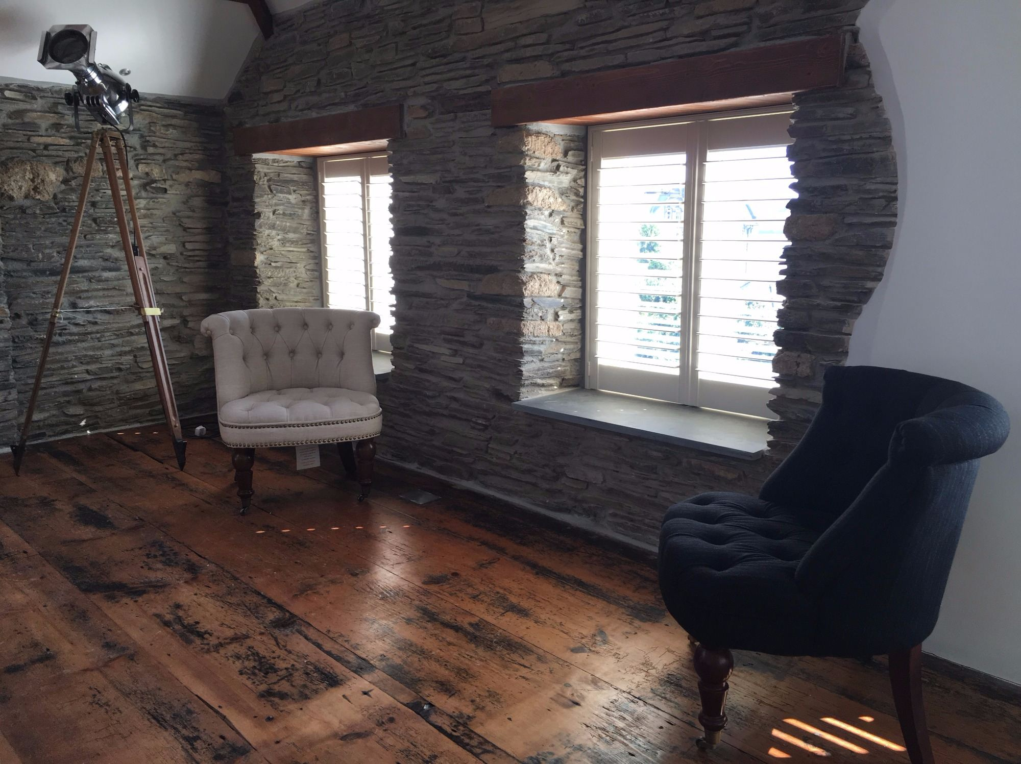cottage upstairs seating area