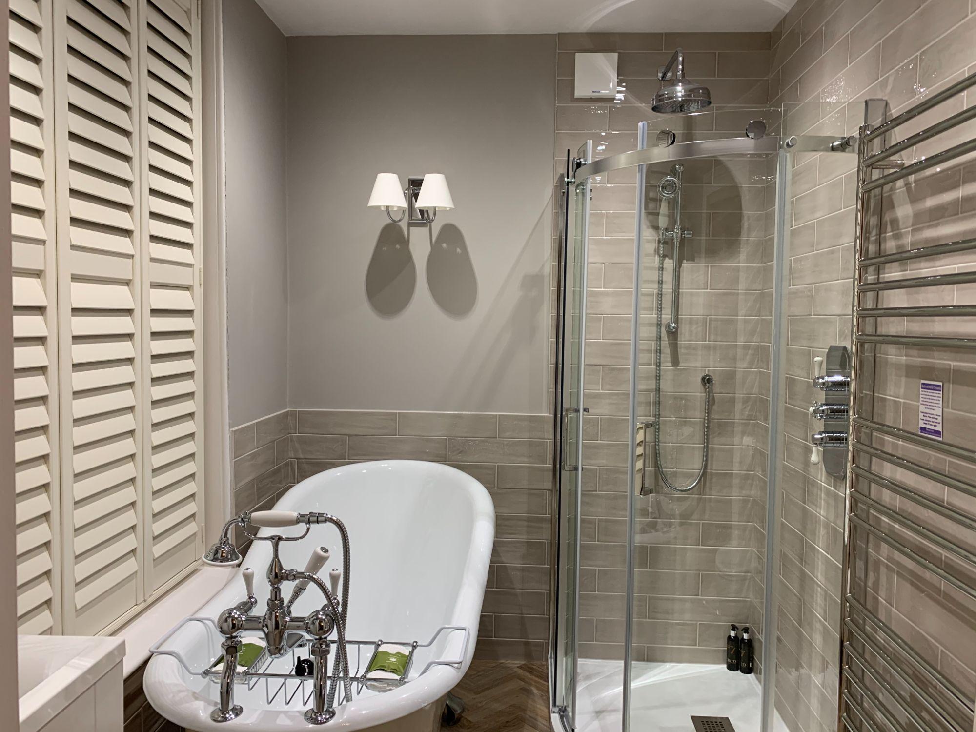 Veranda bathroom internal