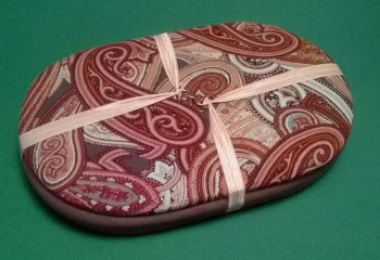 Handy Traveller 117 Paisley Swirls / Mocca Beading Tray + Lid