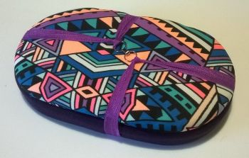 Mini Traveller 186 Aztec Blocks / Purple Beading Tray + Lid