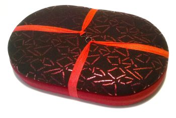 Handy Traveller 162 Ruby Red Shapes - Ruby Beading Tray + Lid
