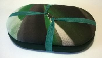 Handy Traveller 194 PALM LEAVES / Green Beading Tray + Lid