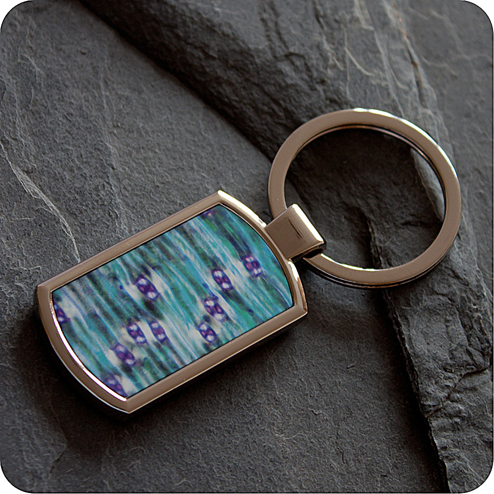 LILY LEAF EPIDERMIS (POLARISED LIGHT MICROSCOPY) KEYRING (K8)