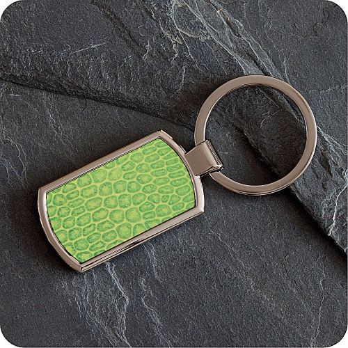 MOSS LEAF BY BRIGHTFIELD MICROSCOPY KEYRING (K9)