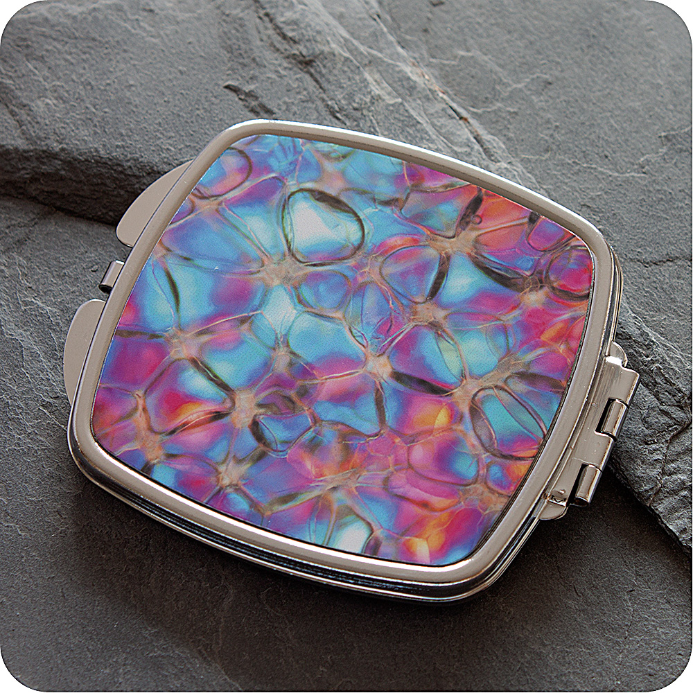 Science gift compact mirror