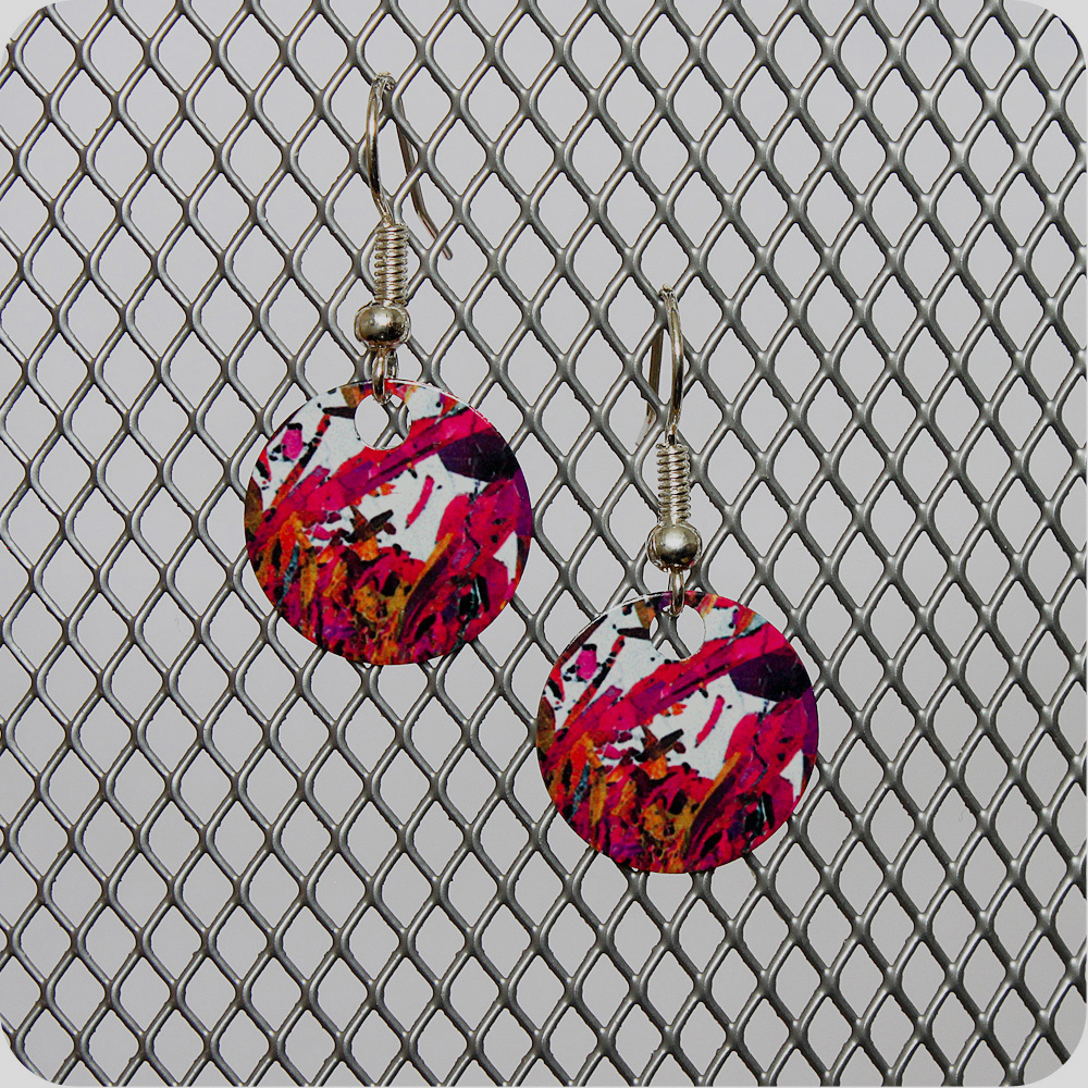 Science jewellery - scientific earrings