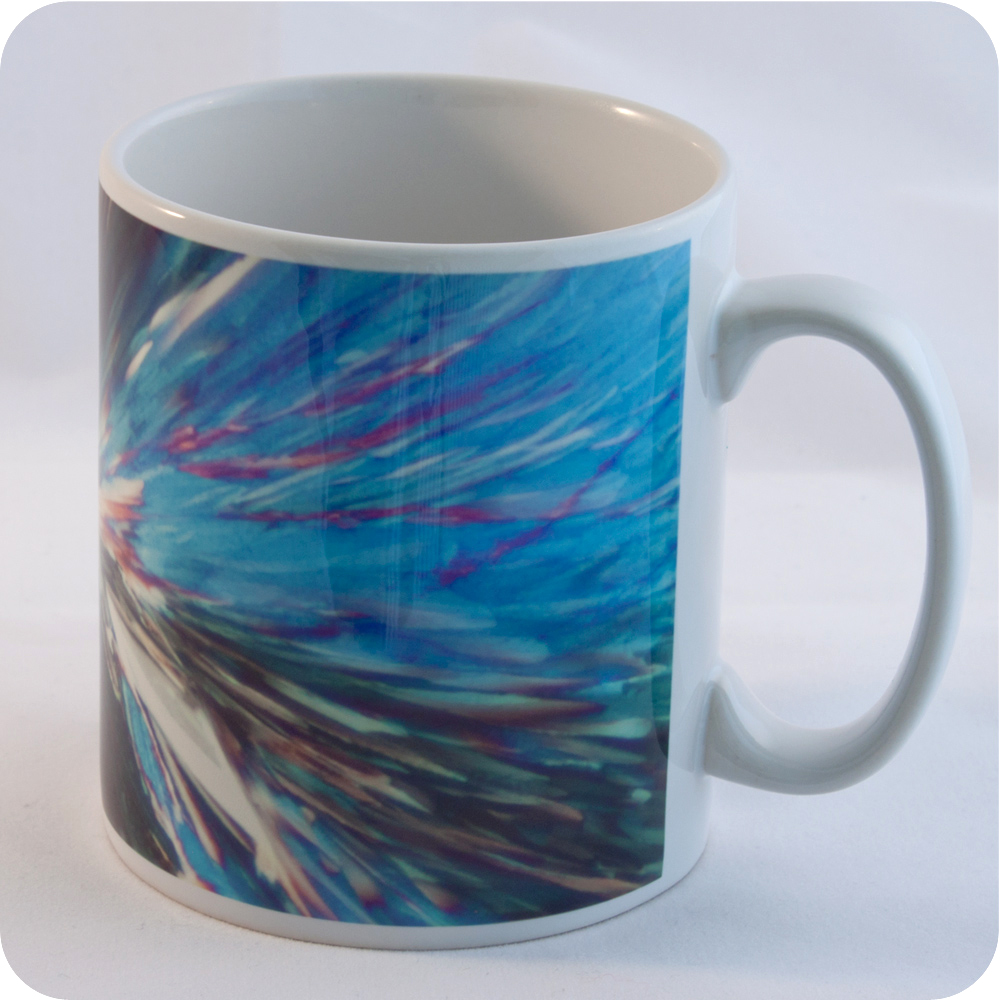 <!-- 00133 -->CITRIC ACID POLARISED LIGHT MICROSCOPY MUG (M22)