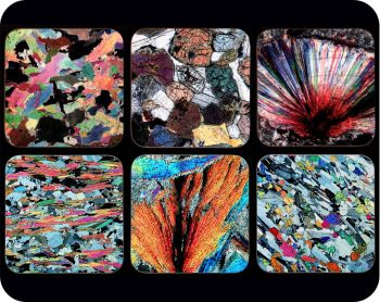 Scottish Highlands (Lochaber Geopark) Geology Coasters - great gift for a geologist (Co-Loch6)
