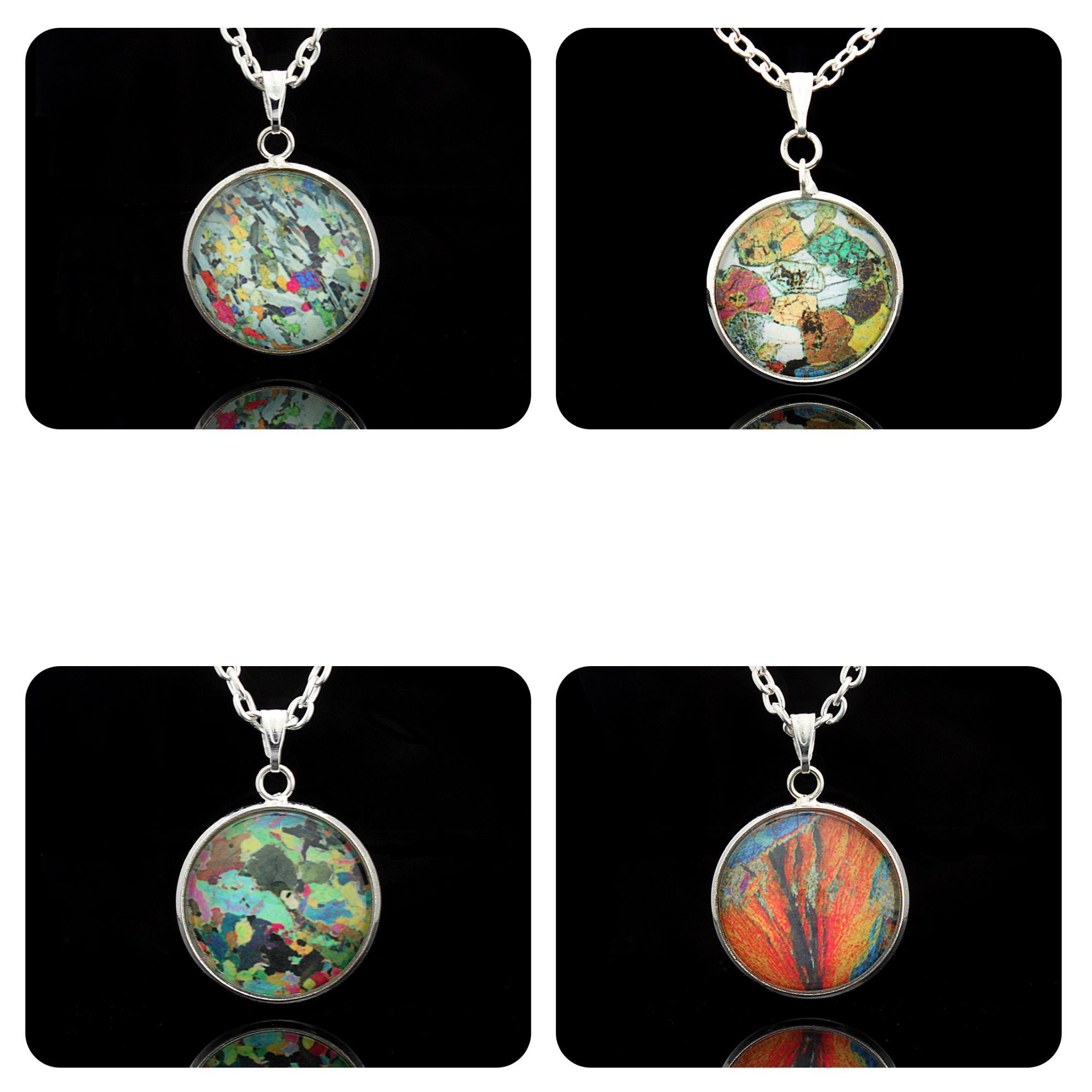 Geology pendants