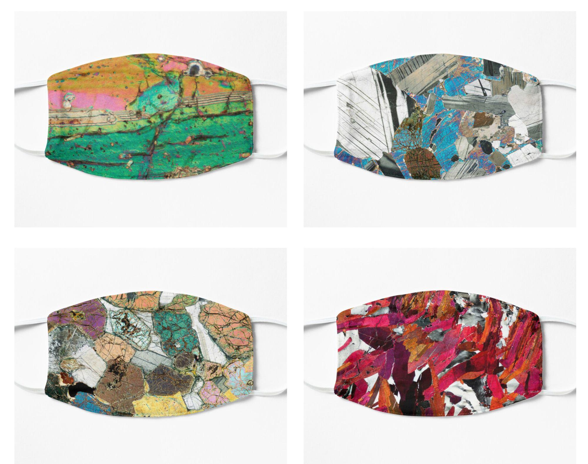 Geology Face Masks