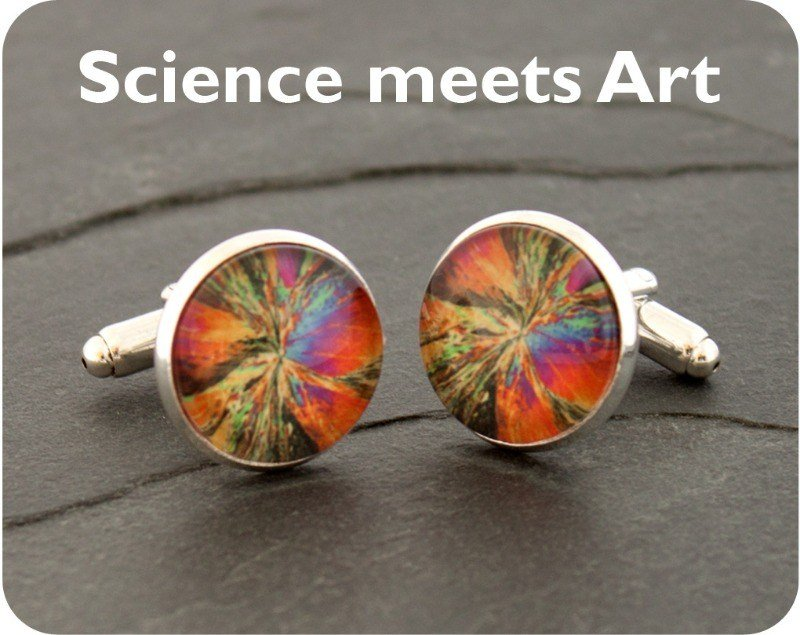 science cufflinks 11
