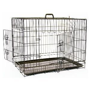 2-Door-Dog-Cage