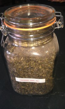 Peppermint Green Tea (125g)