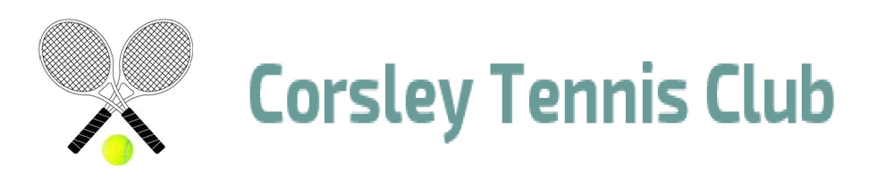 Corsley Tennis Club, site logo.