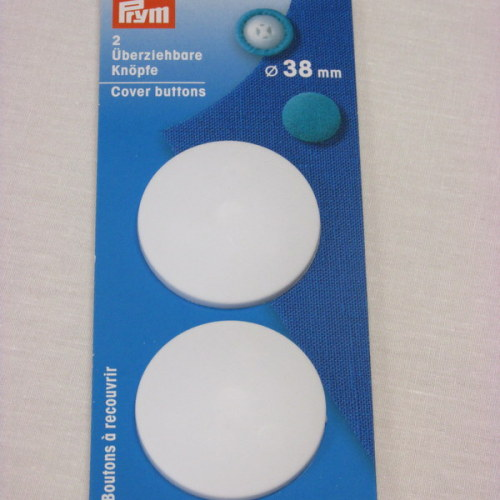 Prym 38mm cover buttons