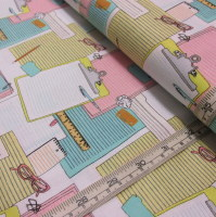 Clipboards, Part of the Type Collection By Julia Rothman for Windham Fabrics