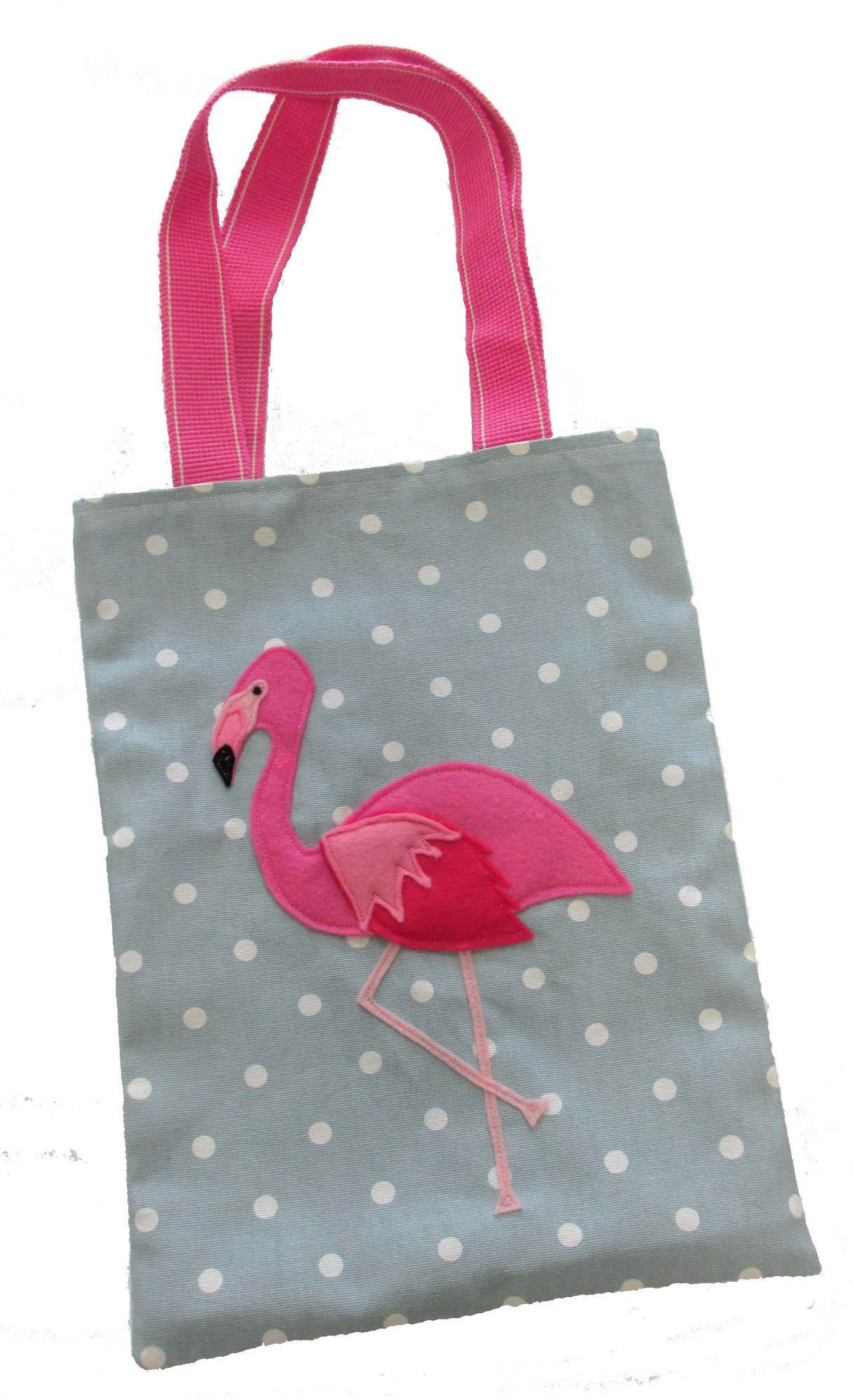 Sew Your Own Flamingo Tote Bag