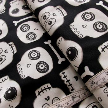 Glow in the dark Skulls from Boo Crew by Blank Quilting