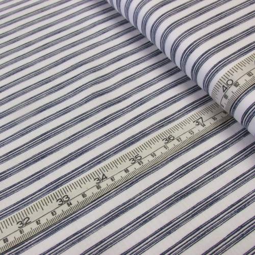 Stripe from Nautical Fish by Louise Angelicas for Clothworks