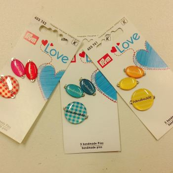 "Prym Love ""Handmade"" Charms"