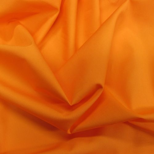 Orange Plain dyed cotton