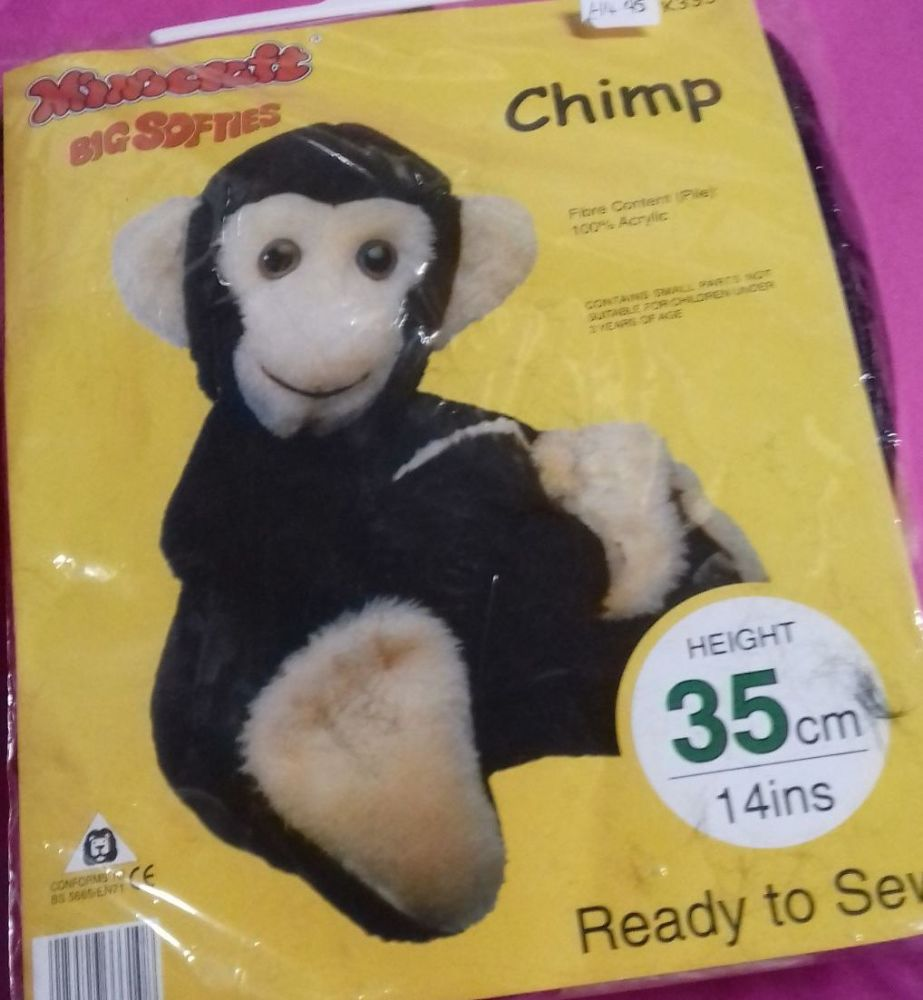 Mini Craft Big Softies Chimp Kit