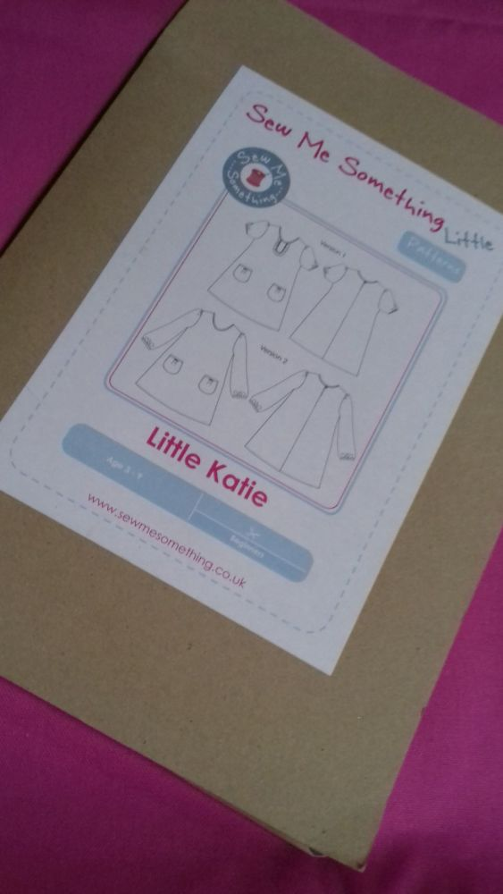 Sew Me Something Little Katie Dress Pattern