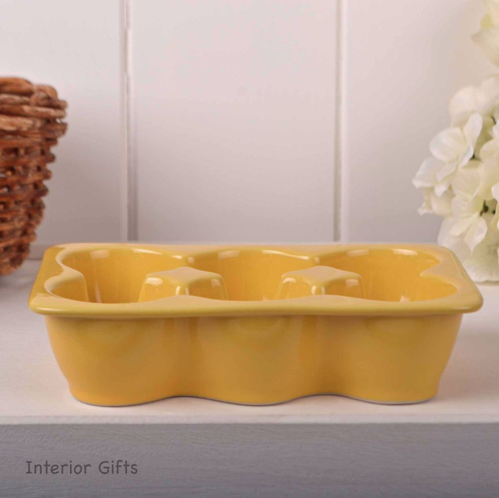 Egg Crate in Porcelain & Stoneware