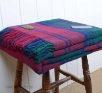 Tweedmill Lindsay Red Tartan Check Throw / Picnic / Travel Rug / Blanket