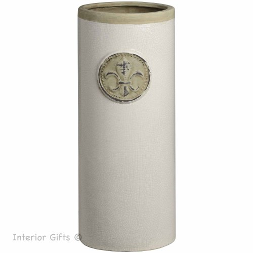 Ceramic Umbrella Stand in Neutral Colours