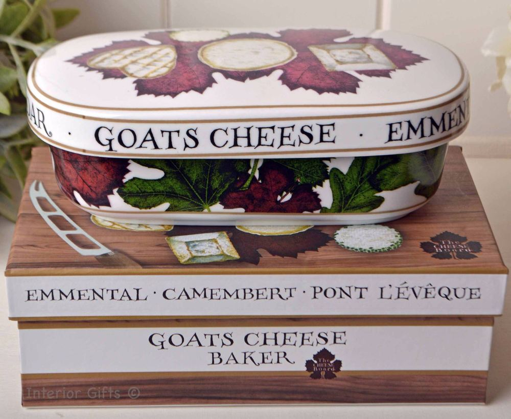 Camembert Goat's Cheese Baker French Country