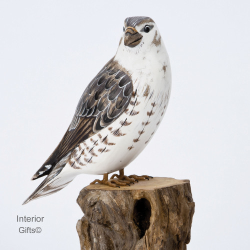 Archipelago Merlin Falcon Wood Carving