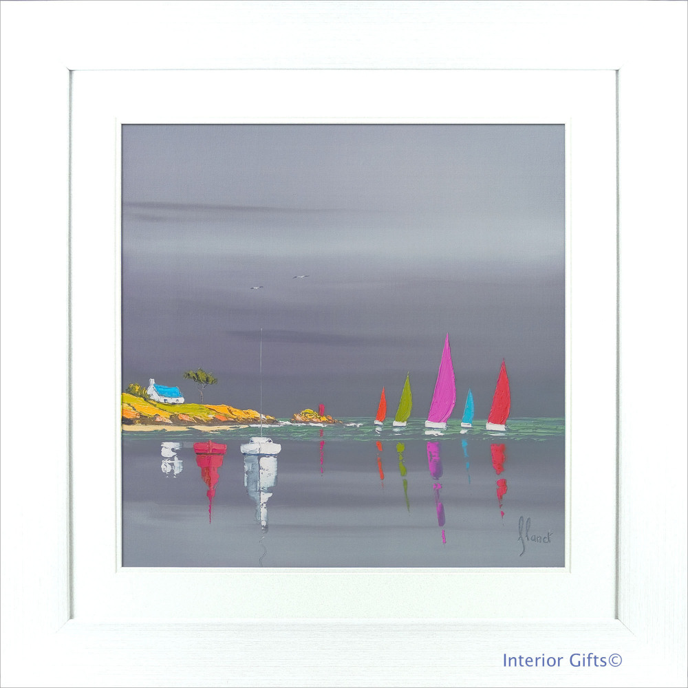 'Sea of Sails I' by Frederic Flanet - 86x86cm