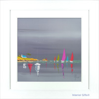 'Sea of Sails I' by Frederic Flanet - 77x77cm