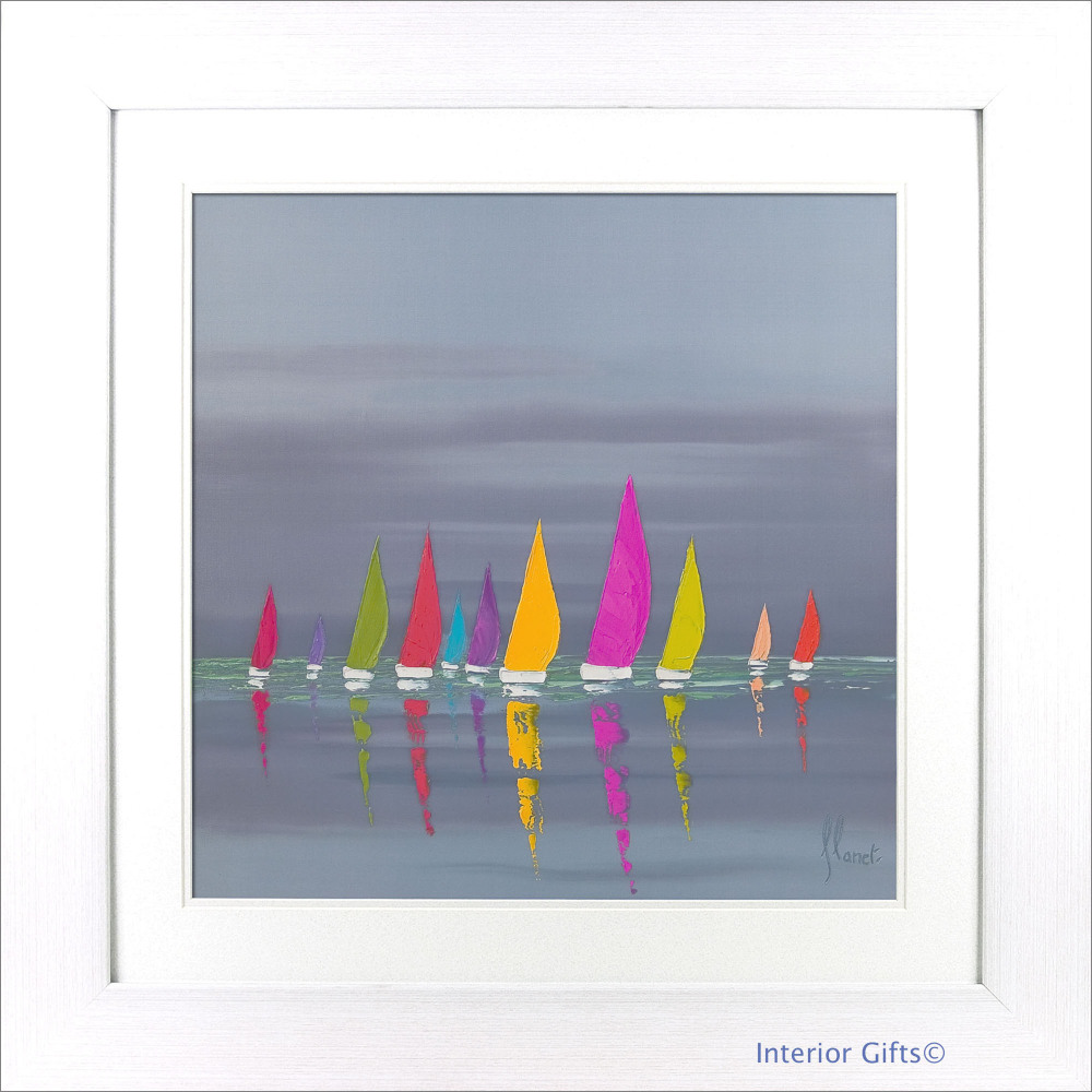 'Sea of Sails II' by Frederic Flanet - 86x86cm
