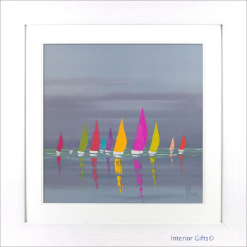 'Sea of Sails II' by Frederic Flanet - 77x77cm