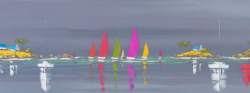 Boat Reflections Frederic Flanet