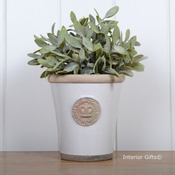 Kew Long Tom Pot in Bone - Royal Botanic Gardens Plant Pot - Small
