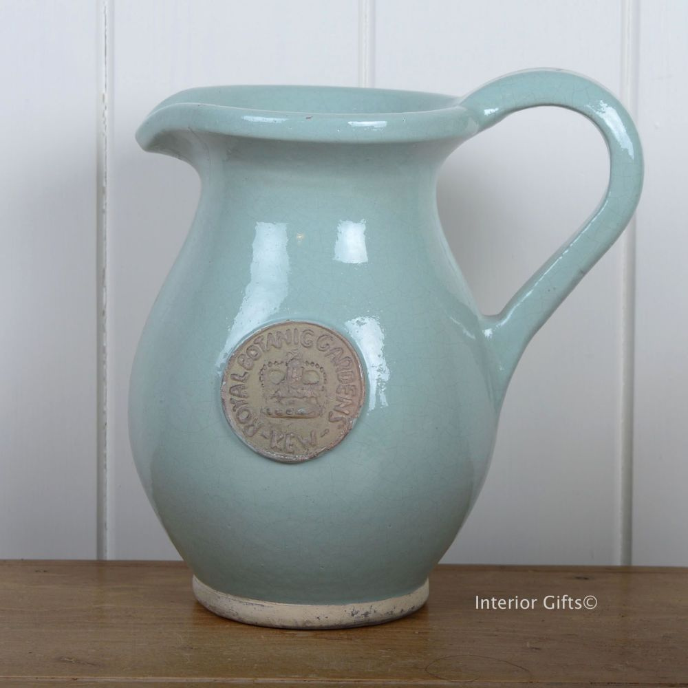 Kew Royal Botanic Gardens Jug in Tiffany Blue