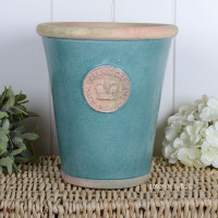 Kew Long Tom Pot in Turquoise - Royal Botanic Gardens Plant Pot - Large