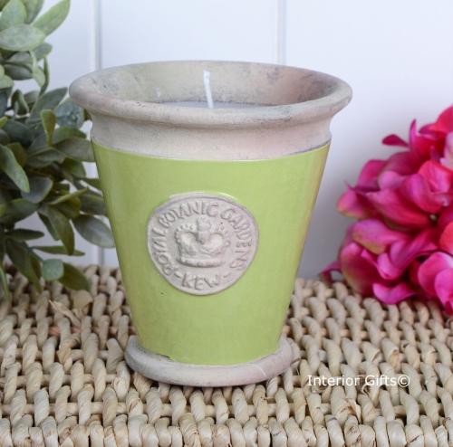 KEW Royal Botanic Gardens Candle in Lime Green - Large