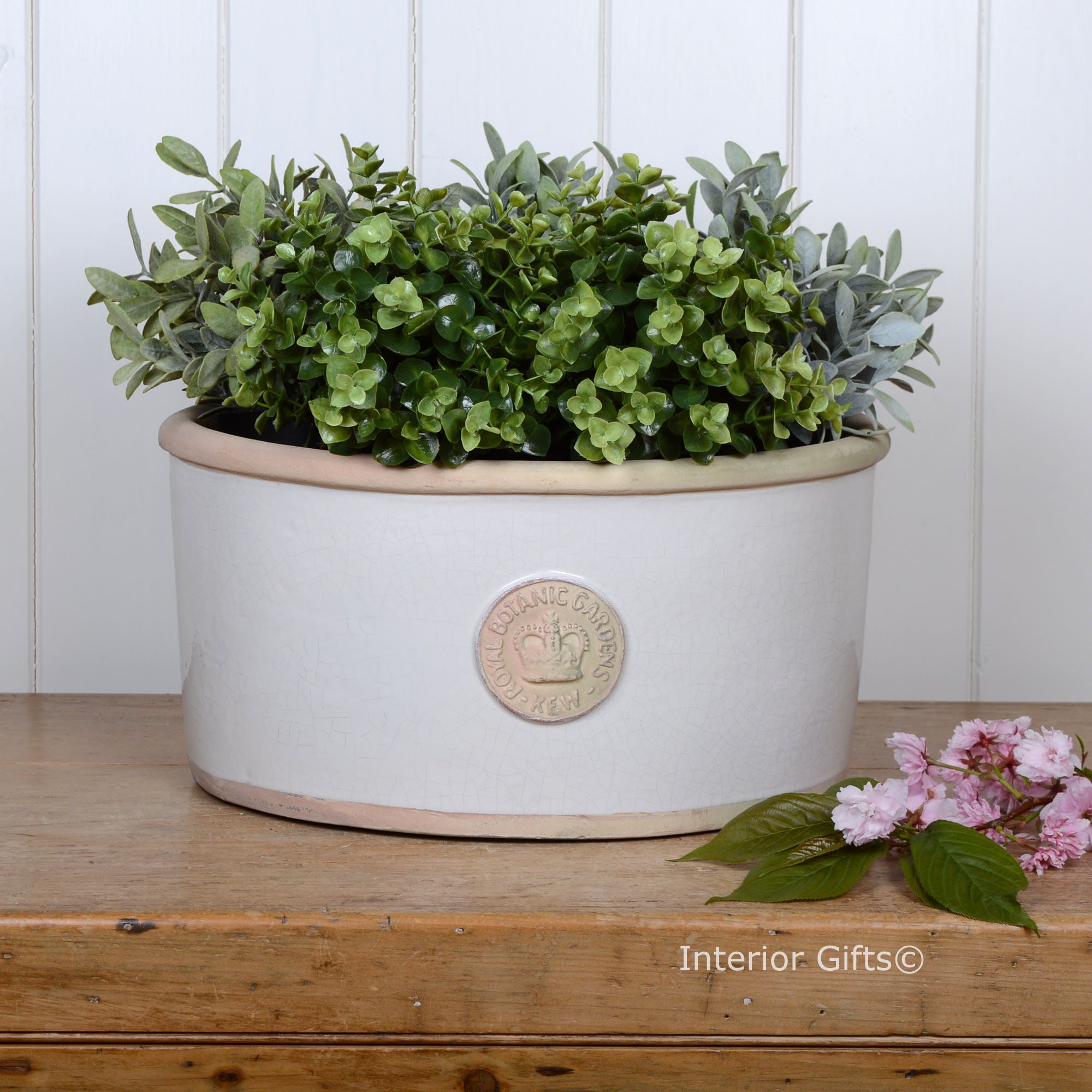 Kew Oval Plant Pot
